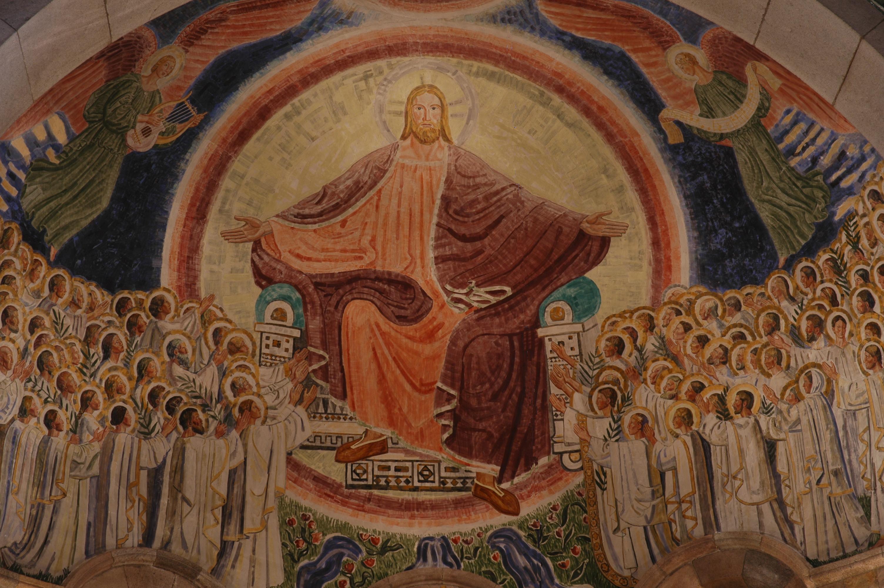 Et af Joakim Skovgaards fresker i Viborg Domkirke
